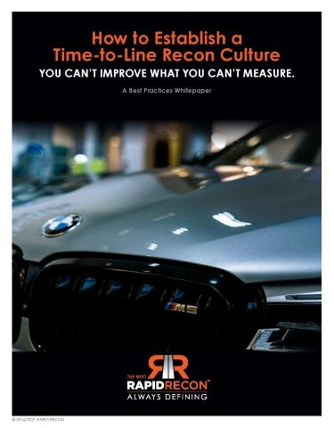 How to Establish a Time-to-Line Recon Culture