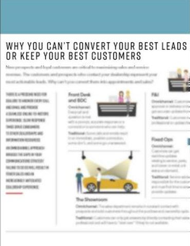 Why You Can't Convert Your Best Leads or Keep Your Best Customers