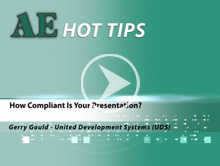 How Compliant Is Your Presentation?