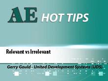 AE HOT TIPS