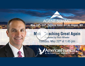 "Don't miss ""Make Coaching Great Again"" at the 2018 Agent Summit"