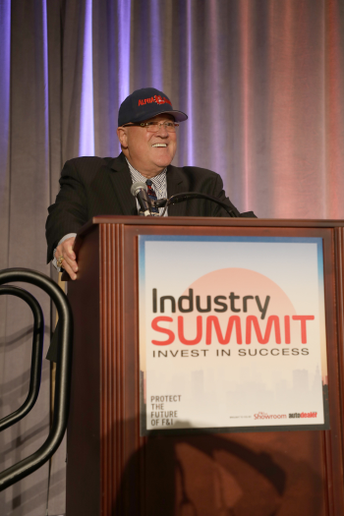 Jim Ziegler accepted the first-ever Edward J. Bobit Lifetime Achievement Award on Oct. 10 at the 2018 Industry Summit Honors. -