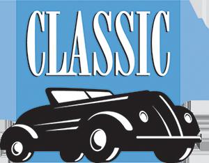 Classic blue logo