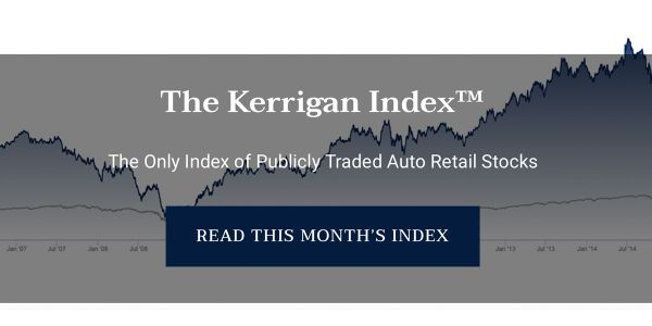 After a volatile start to 2020, The Kerrigan Index out-performed the S&P and rose to all-time...