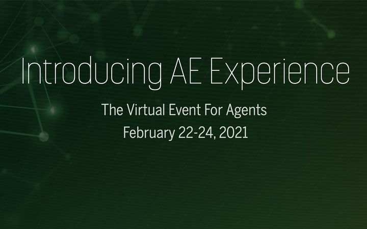 The Virtual Event for Agents || February 22–24, 2021 -
