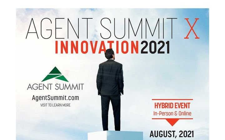Agent Summit 2021 will take place at the Bellagio Las Vegas, Aug. 29 – Sept. 1. -
