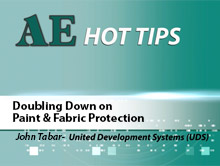 AE HOT TIP: Doubling Down on Paint & Fabric Protection