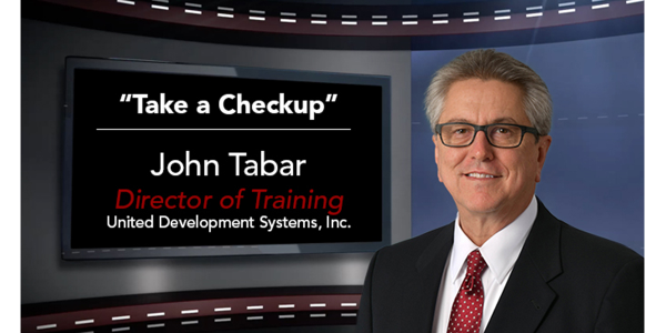 "Jackie B. Cooper, legendary automotive sales trainer used to say, ""take a checkup from the neck..."