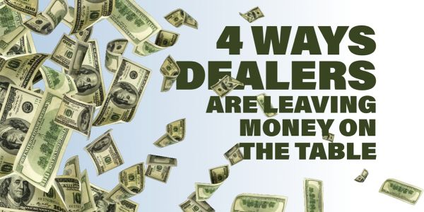 """If dealers revert to """"the way it was,"""" they will see money left on the table, and long-term..."""