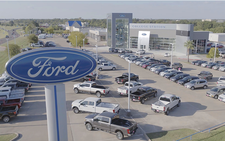College Station (Texas) Ford was one of the 18 Keating Auto Group stores that benefited from an investment in a machine learning-based active-shopper targeting solution. 