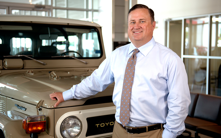 """Ryan Norris is the co-owner of Toyota of Easley (S.C.) and star of the """"Ask Ryan"""" online video series.   - Photos courtesy Potratz Automotive Advertising Agency"""