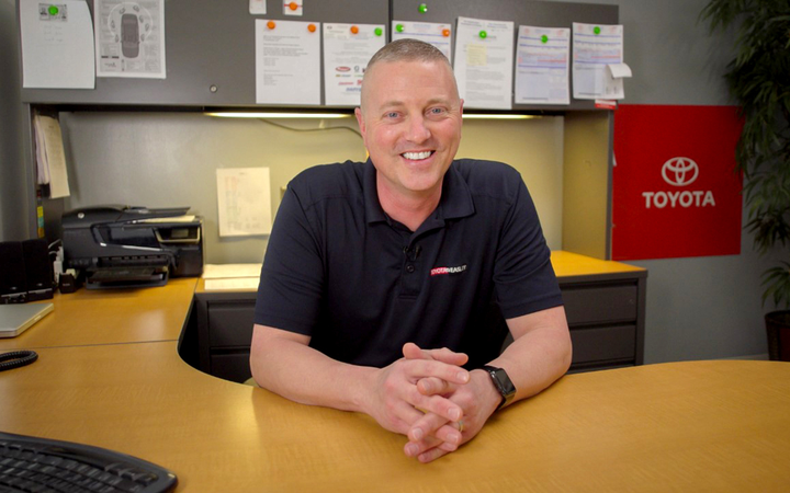 Toyota of Easley's foray into video-based marketing came as no surprise to Service Manager Michael Muldoon, who says ownership has always been willing to invest in new tools and processes.   -
