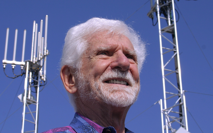 Former Motorola engineer Marty Cooper led the development of the first non-car cellphone in 1973 — and was certain the new gadgets wouldn't replace land lines anytime soon.   - Photo courtesy Martin Cooper via Wikimedia Commons