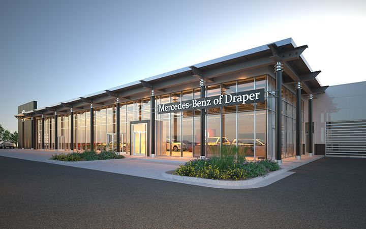 Mercedes-Benz of Draper (Utah) is among the German brand's 300 U.S. stores. Dealers who have completed the Autohaus II facilities upgrade will not be asked to renovate again until 2024. 