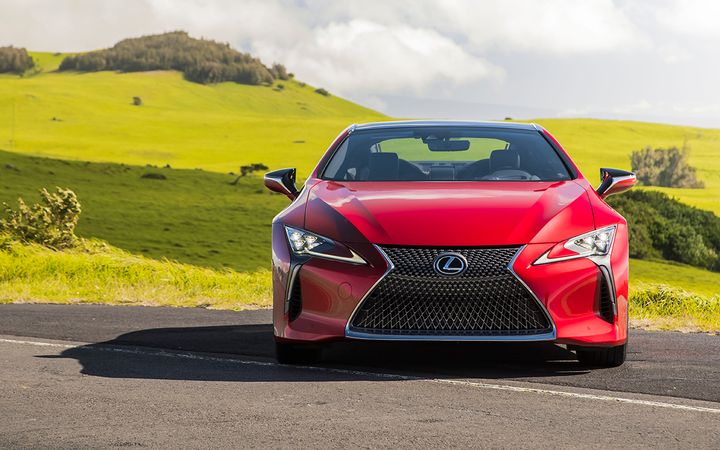 """Lexus used virtual reality, augmented reality, and other advanced digital marketing tools to """"premarket"""" the LC 500, helping to exceed initial sales targets by more than 5%.   - Photo courtesy Toyota Motor Sales USA Inc."""