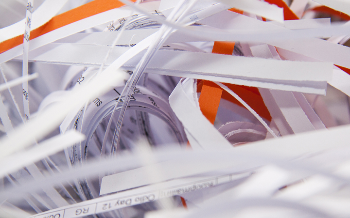 Properly securing and destroying paper documents reduces the risk of fraud, helps prevents lawsuits, and tells customers their information is safe with your dealership. 