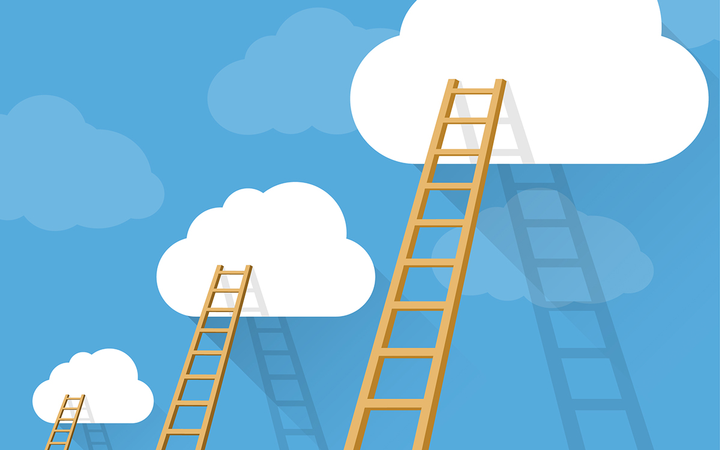 Climbing the dealership management ladder requires commitment to the goal and practical steps to meet it.   - Illustration by mushakesa via Getty Images