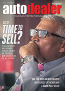 Auto Dealer Today Q1 2019 Magazine Cover