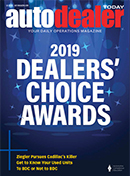 Auto Dealer Today Q4 2019 Magazine Cover