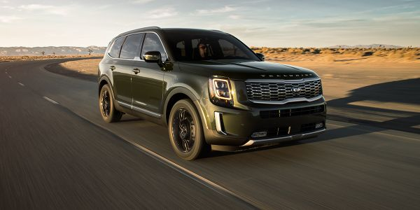 The all-new Kia Telluride won the Best New Model category in the Kelley Blue Book's 2020 Best...