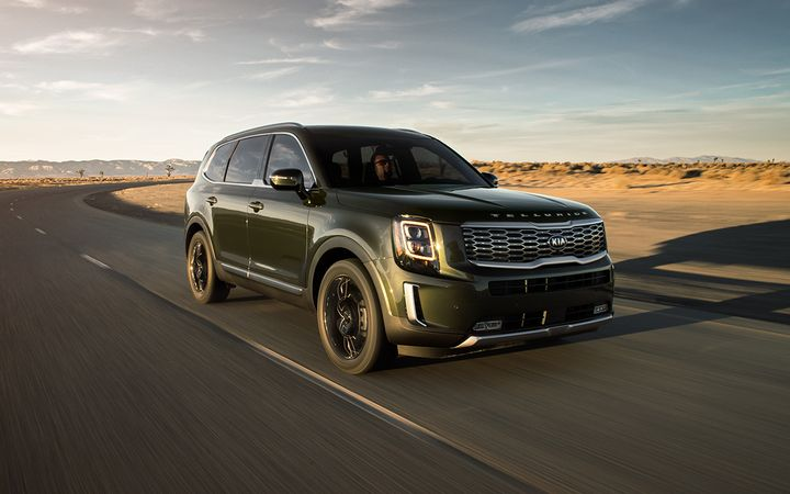 The all-new Kia Telluride won the Best New Model category in the Kelley Blue Book's 2020 Best Buy Awards.  - Photo courtesy Kia Motors Corp.
