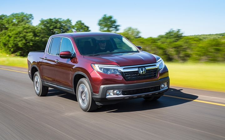 Honda reported a 7.6% year-over-year sales increase in October, propelled by sales of light trucks, including the Ridgeline pickup as well as its lineup of SUVs and crossovers.  - Photo courtesy American Honda Motor Co.