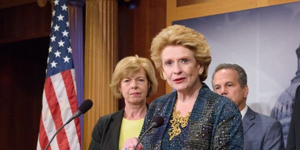 Sen. Debbie Stabenow (D-Mich.) told Bloomberg the federal electric vehicle tax credit would be...