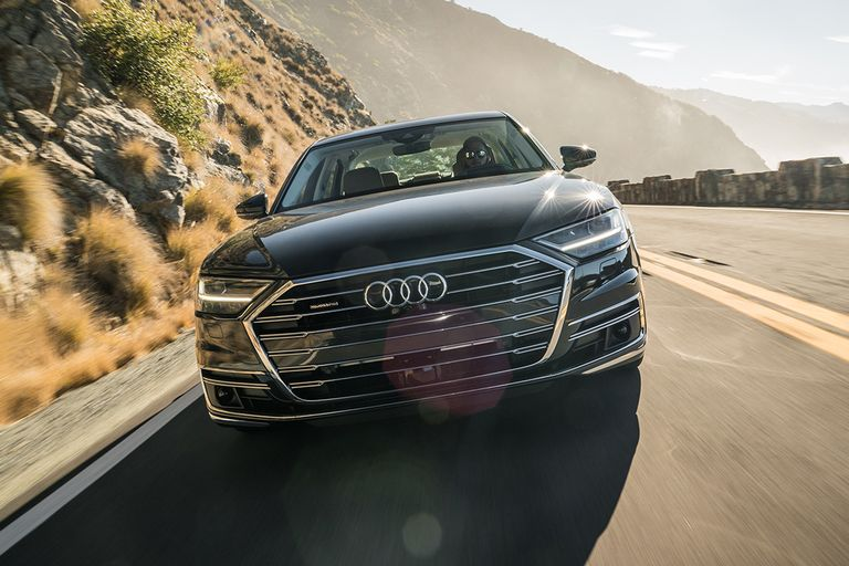 Sales of the Audi A8 improved by 50% year-over-year last month, helping to propel the German...