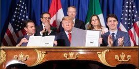 Trump, Democrats Agree to Revised USMCA