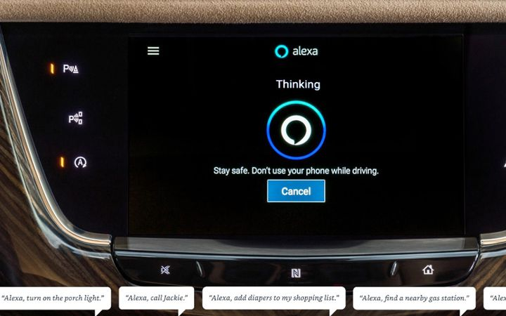 General Motors is bringing Chevrolet, Buick, GMC and Cadillac owners the ability to add convenience and productivity to their daily drives through a new in-vehicle Alexa experience coming in the first half of 2020. - Photo courtesy of General Motors