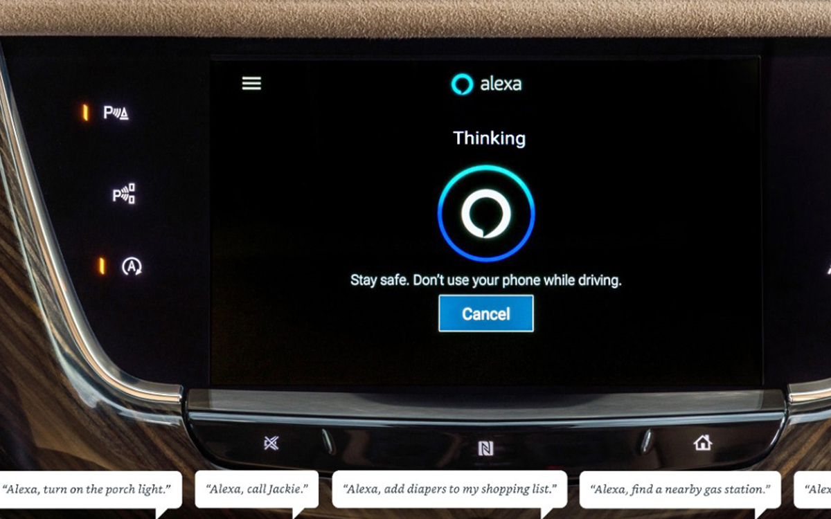 GM Brings Amazon Alexa to Your Vehicle