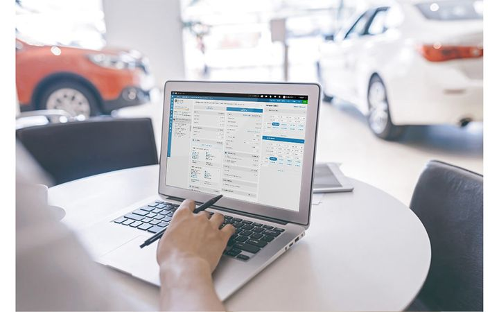 The new solution is fundamentally redesigned and re-engineered for a faster, more flexible, and cohesive experience for dealers and their customers. - Image provided by DealerSocket