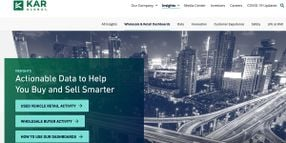 KAR Global Launches Interactive Insights for Buyers and Sellers