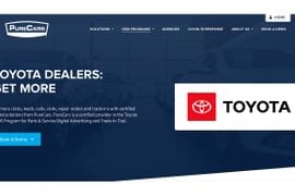 PureCars' Multi-Channel Digital Advertising Platform Selected By Toyota For Dealer Parts & Service Program