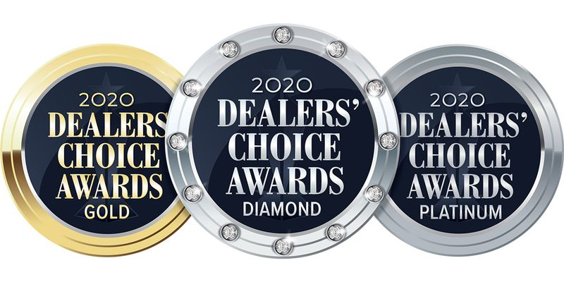 Voting for the 2020 Dealers' Choice Awards will close at midnight on Friday, Aug. 14.