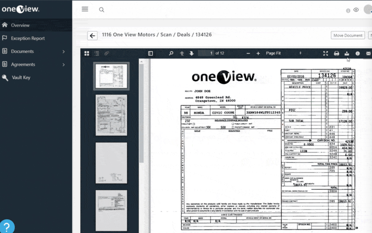 One View Upgrades Auto Dealership Data Management Capabilities with New Mobile-Friendly, Browser-Agnostic Archiving Platform