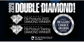 RoadVantage Wins Diamond In Two Categories In the 2020 Dealers' Choice Awards