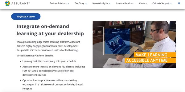 "New ""Salesperson Training"" modules available in Assurant Virtual Learning Platform, furthering..."