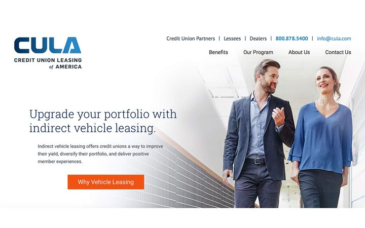 Leader in indirect vehicle leasing for credit unions processed more leases in October than in any other month in its history. - IMAGE: CULA.com