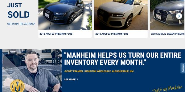 This change brings the total number of Manheim sites offering live, physical sales to 14.