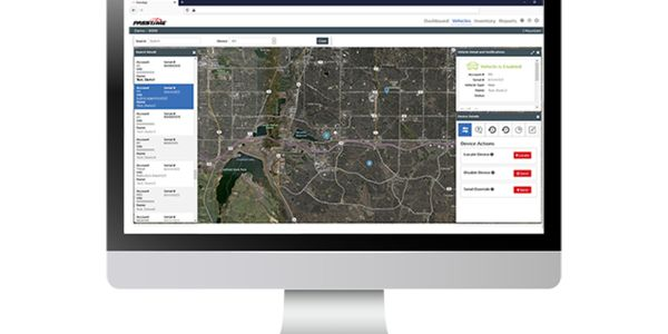 New, intuitively designed software for GPS asset management.
