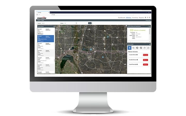 New, intuitively designed software for GPS asset management. - IMAGE: PassTimeGPS.com