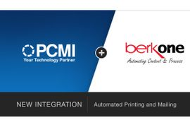 PCMI Integrates with BerkOne to Provide Automated Printing and Mailing within PCRS