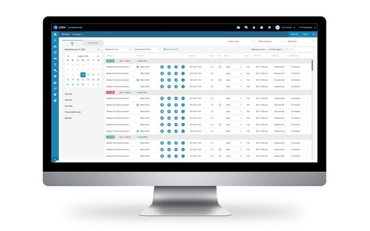 The launch of DealerSocket's all-new Service Scheduler inside its award-winning CRM creates one location for managing all customer interactions and sets the stage for a full roadmap of innovations in 2021. - IMAGE: DealerSocket