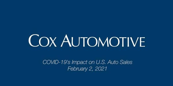 Auto sales activity likely slowed in the final days of January, notes Cox Automotive's Chief...