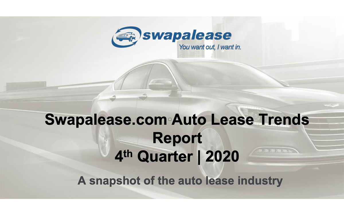 Swapalease Releases Fourth Quarter Lease Trends Report from 2020