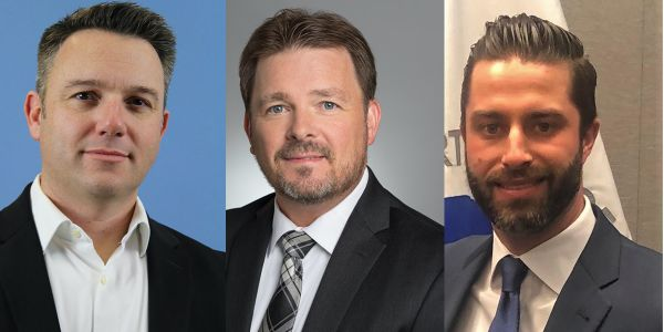 New VPs Laurence Dixon, Brett Scott and James Gibson bring experience and insight to association.