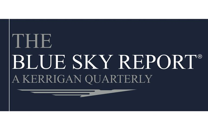 The 2020 Annual Blue Sky Report® by Kerrigan Advisors reveals a red-hot market, with blue sky values up 20% and over 100 transactions in the fourth quarter alone; Toyota's blue sky multiples increase. - IMAGE: KerriganAdvisors.com