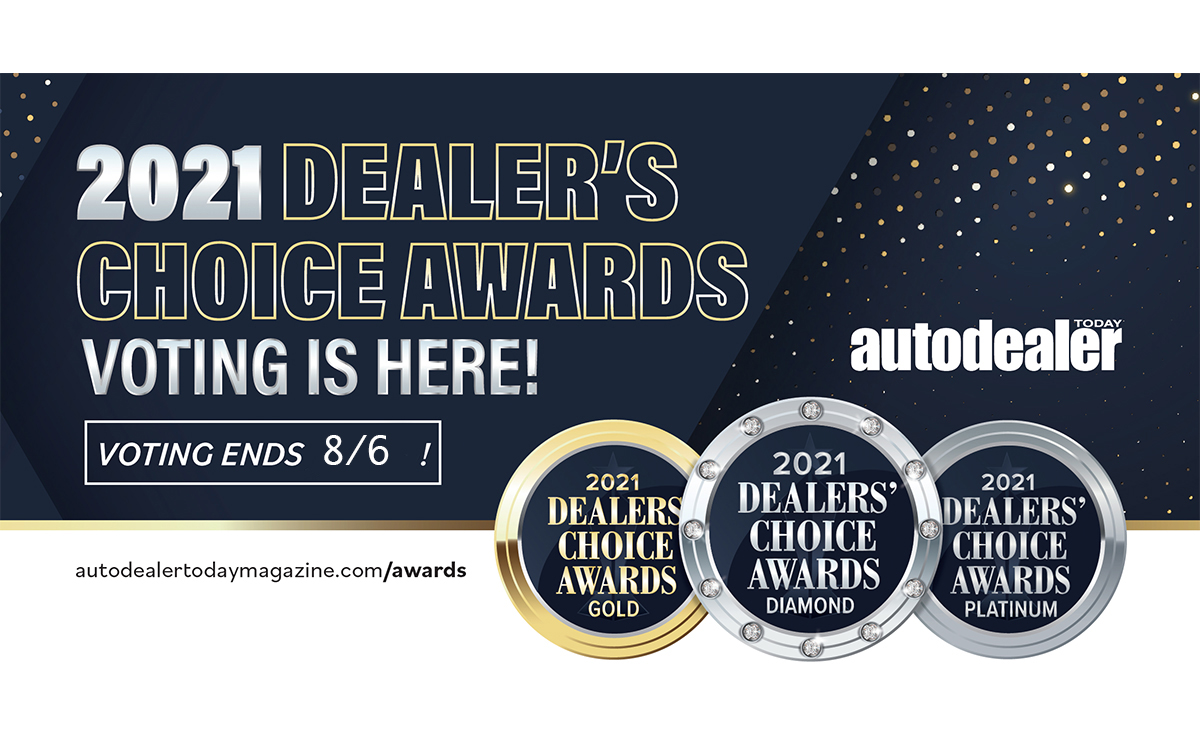 Vote Today: 2021 Dealers' Choice Awards