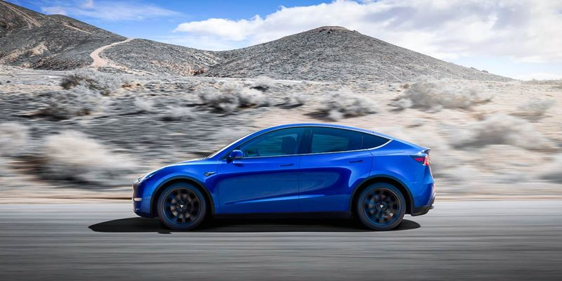 Tesla's new model, the Model Y, saw registrations skyrocket 71%, from 2,260 in 2020 to 53,102...